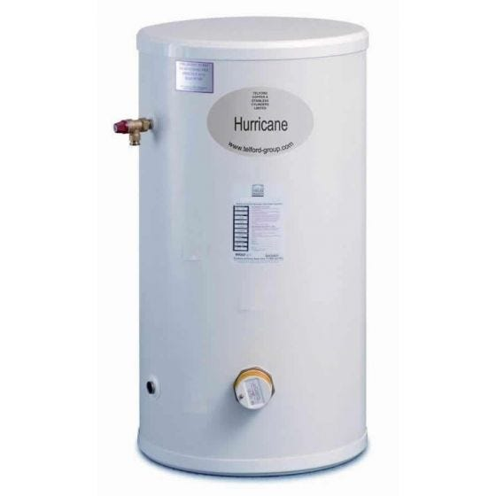 Telford Hurricane 150 Litre Unvented Stainless Steel Direct Cylinder