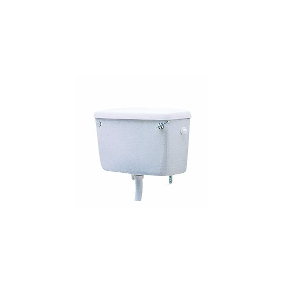 Twyford Classic Low Level Cistern with Lever - Side Supply
