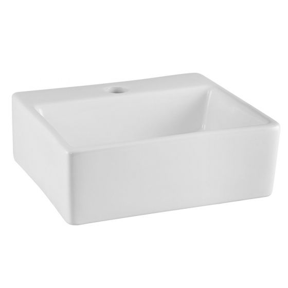 Nuie 335mm 1 Tap Hole Square Counter Top Vessel Basin