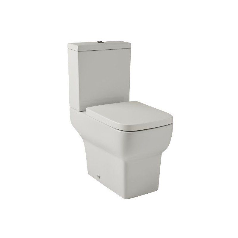 Pleasing Kartell Korsika Close Coupled Toilet With Soft Close Seat Creativecarmelina Interior Chair Design Creativecarmelinacom