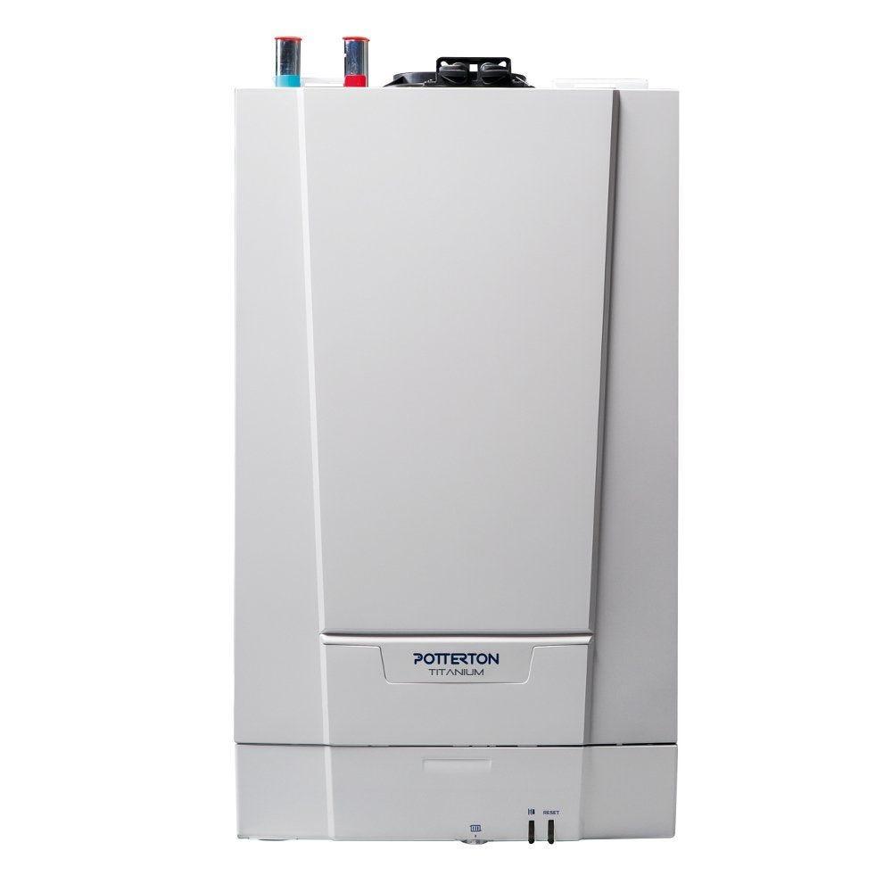 Potterton Titanium 18kw Erp Heat Only Boiler  U0026 Rear Flue