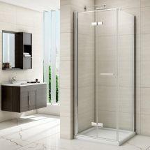 Merlyn 8 Series 760mm Side Panel to Suit Frameless Hinged Bifold Door