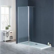 Aqua-I 10mm Wetroom Deflector Panel 300mm x 1900mm High