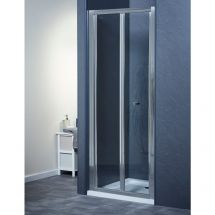 760mm x 760mm Bifold Door Shower Enclosure and Shower Tray