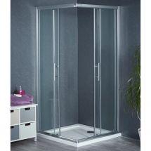 Aqua-I6 Corner Entry Shower Enclosure 900mm x 900mm