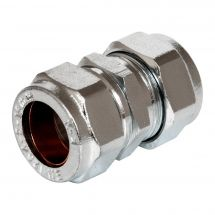 Chrome Compression Coupler