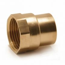 End Feed Female Iron Coupler 28mm x 1""