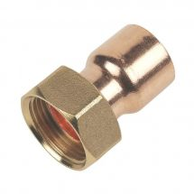 """End Feed Straight Tap Connector 15mm x 3/4"""""""