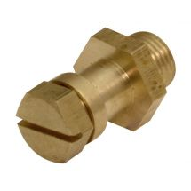 "Gas Test Nipple 1/8"" Male Iron"