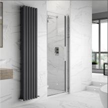 Hudson Reed Apex Hinged Shower Door 700mm