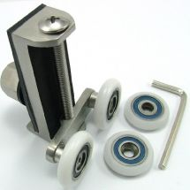 Pair Uniwheel Shower Door Wheels