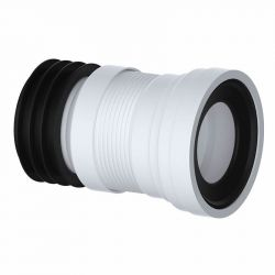 110mm Flexible WC Pan Connector Adjustable 200mm - 350mm