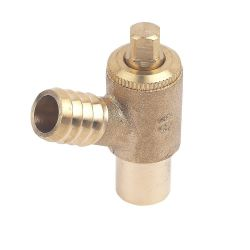15mm Type A Drain Off Cock Valve - Heavy Pattern