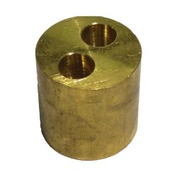 Brass 2 Port Manifold for Microbore Systems