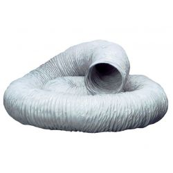 """3m Pack of  Flexible Ducting Hose 100mm / 4"""""""
