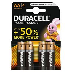 Duracell AA Batteries - Pack of 4