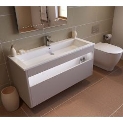 RAK Moon 900mm Over Counter Basin