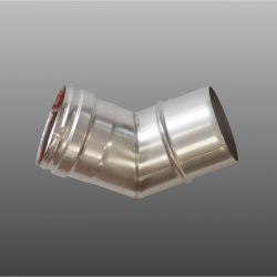 Firebird 80mm Stainless Steel 45 Deg Plume Dispersal Bend