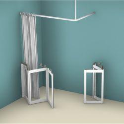 Contour WF4 Corner Access Tri-Fold/Bi-Fold Shower Doors - Left Handed
