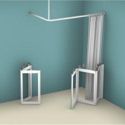 Contour WF4 Corner Access Tri-Fold/Bi-Fold Shower Doors - Right Handed