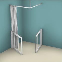 Contour WF5 Corner Access Twin Sliding Shower Doors