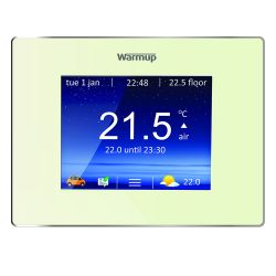 WarmUp 4iE Smart Wi-Fi Controller Thermostat - Bright White