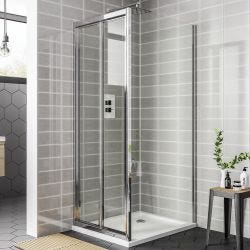 April Destini Bifold Shower Door
