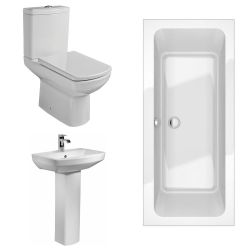 Kartell Aspect Bathroom Suite with Double Ended Bath