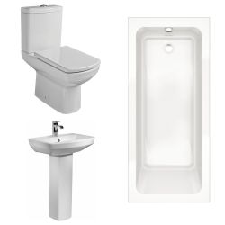 Kartell Aspect Bathroom Suite with Single Ended Bath