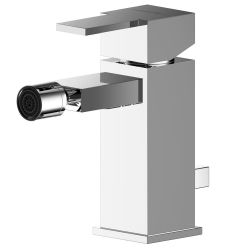 Asquiths Revival Mono Bidet Mixer with Pop-Up Waste