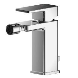 Asquiths Tranquil Mono Bidet Mixer with Pop-Up Waste