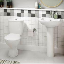 Lecico Atlas Trade Pack WC Suite Including Soft Close Seat