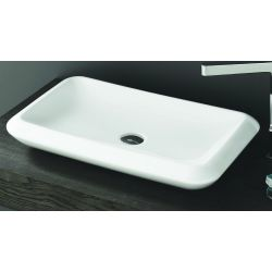 B7 Rectangular Freestanding Basin 650mm Wide x 400mm Deep