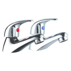 Pair Ascot Basin Taps