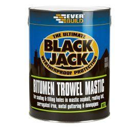 Bitumen Trowel Mastic - 1 Litre