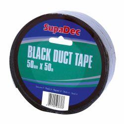 Black Duct Tape 48mm x 50m Roll
