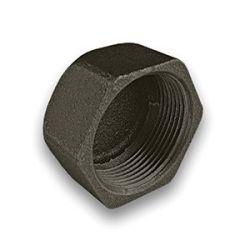 """Black Iron Cap 1"""" Female"""