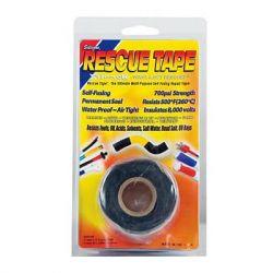 Black Rescue Repair Tape 25mm x 3.55m Roll