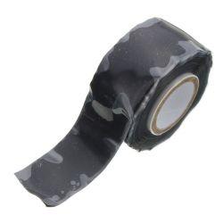 Black X-Treme Silicone Repair Tape 25mm x 3m Roll