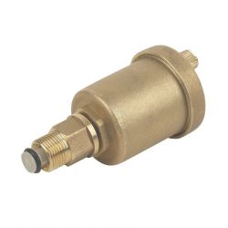 "Bottle Type Automatic Air Vent - 1/2"" Male Thread"