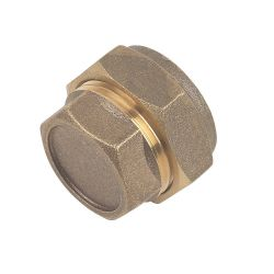 Brass Compression Stop End 35mm