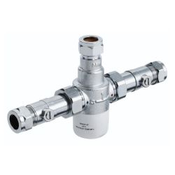 Bristan 15mm Thermostatic Mixing Valve with Isolation Valves
