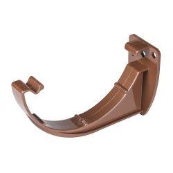 Brown 112mm Half Round Fascia Bracket