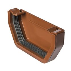 Brown 112mm Square External Stopend