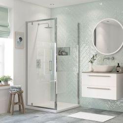 BTL RefleXion Flex Shower Door Side Panel 760mm