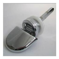 Chrome Side Action Cistern Lever