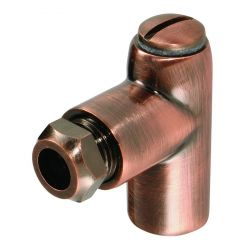 Coin Bronze 8mm Restrictor Elbow 1""
