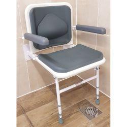 Contour Lumbar Support Shower Seat - Grey