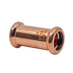 Copper Press-Fit 15mm Coupler