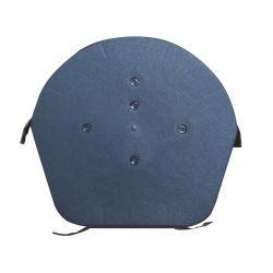 EasyVerge Dry Verge Domed Half Round Ridge Cap / Apex - Grey